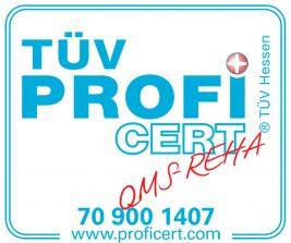 TÜV Zertifikat QMS REHA